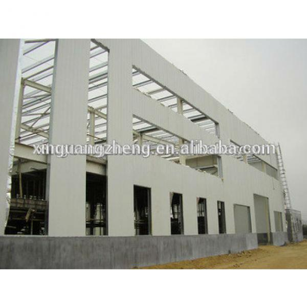 steel structure building metal prefabricated shed #1 image