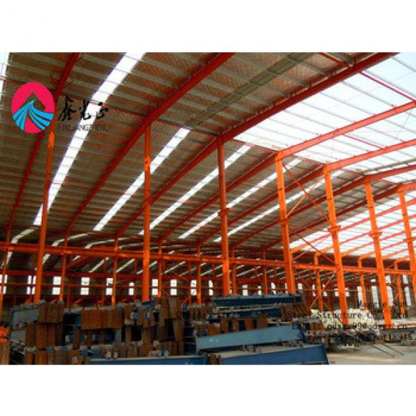 Portable assembling pre-made steel structural frame warehouse construction #1 image