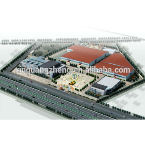 Angola super market steel structural building #1 image