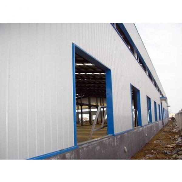 China Light Prefabricated Design Structural sport warehouse shed for sale #1 image