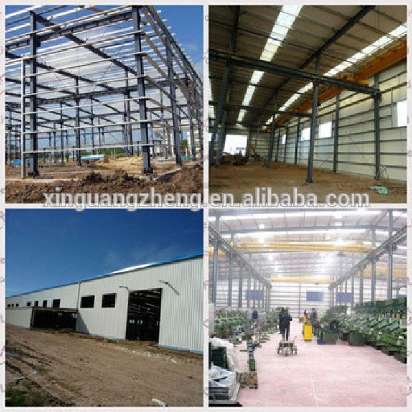 China XGZ Light Prefabricated Design Structural Steel Frame Warehouse design and fabrication projects #1 image