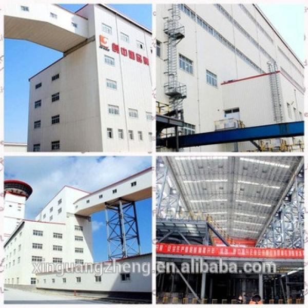Pre-engineering prefabricated steel structural warehouse building #1 image
