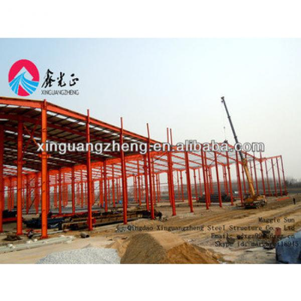 light weight prefabricated warehouse construction #1 image