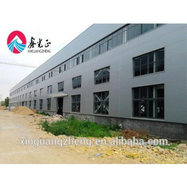 steel structure school building EPS sandwich panel warehouse cotton ginnery #1 image