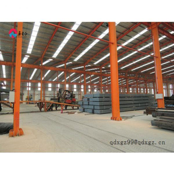 Self storage light steel structure prefabricated warehouse construction #1 image
