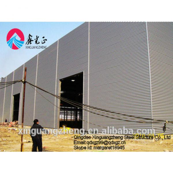 Qingdao steel structure factory building builders warehouse #1 image
