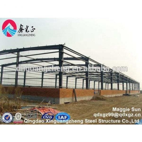 Steel retail building Commercial steel structure storage warehouse #1 image