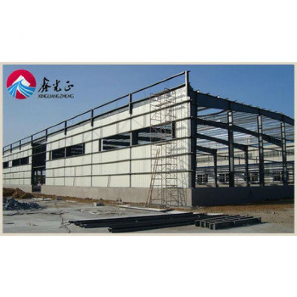 Prefab corrugated steel sheets warehouse hall light steel hall sports warehouse layout design #1 image