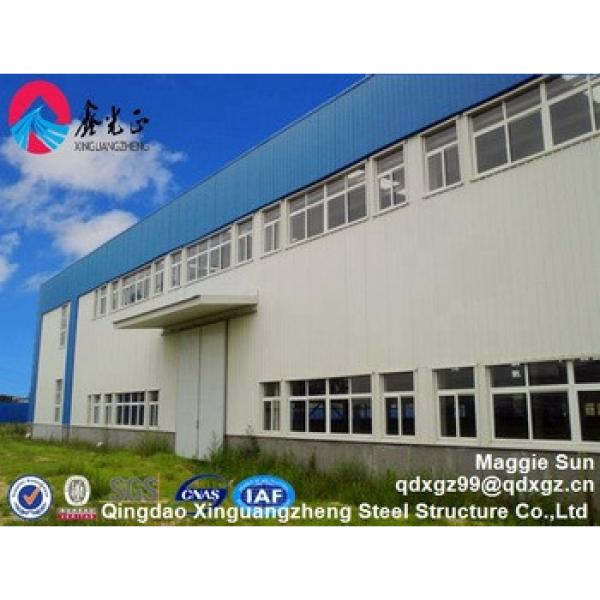 China XGZ Light Prefabricated Design Structural Steel Frame Warehouse for sport hall #1 image