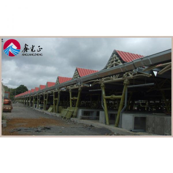 Prefab warehouse hall light steel hall sports warehouse layout design #1 image