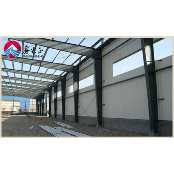 Prefab commercial warehouse hall light steel hall sports warehouse layout design #1 image