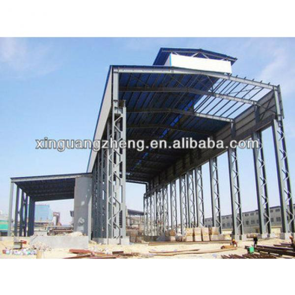 variaty of light steel structure warehouse construction building #1 image