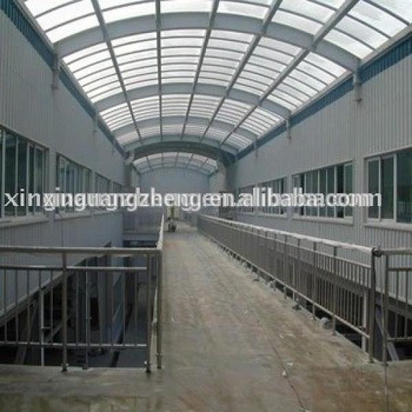 low cost steel structure prefab warehouse in Algeria #1 image