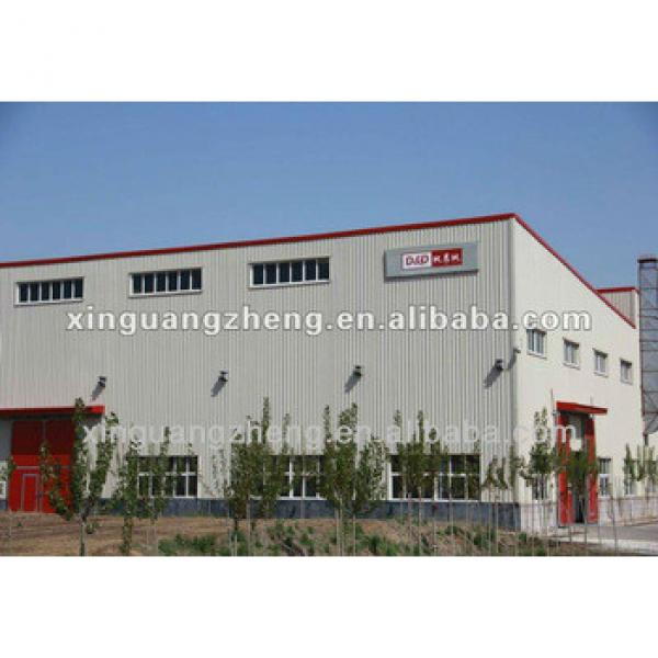 Prefabricated steel structure modern warehouse #1 image
