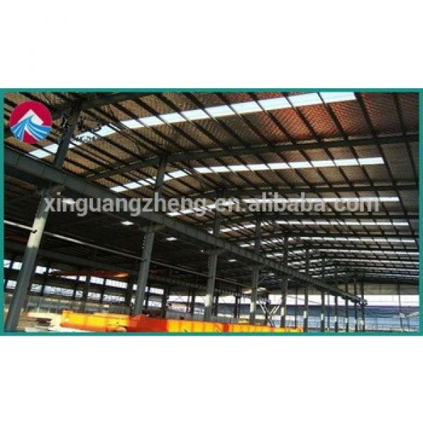 Chinese light steel structure prebuilt warehouse #1 image
