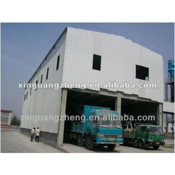 Steel structure two story warehouse #1 image