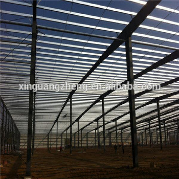 low cost steel structure prefabricated barns #1 image