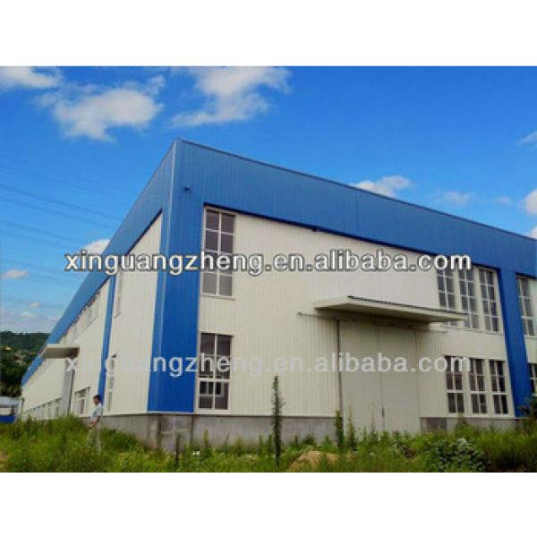 Steel structure pre assembled storage sheds #1 image