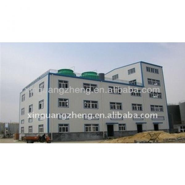 Steel structure easy assembly 2 floor warehouse #1 image
