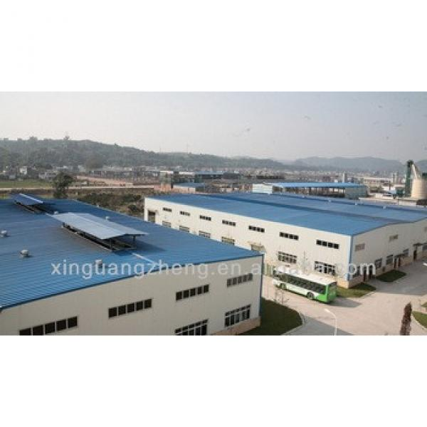 Large-span construction steel frame industrial building warehouse #1 image