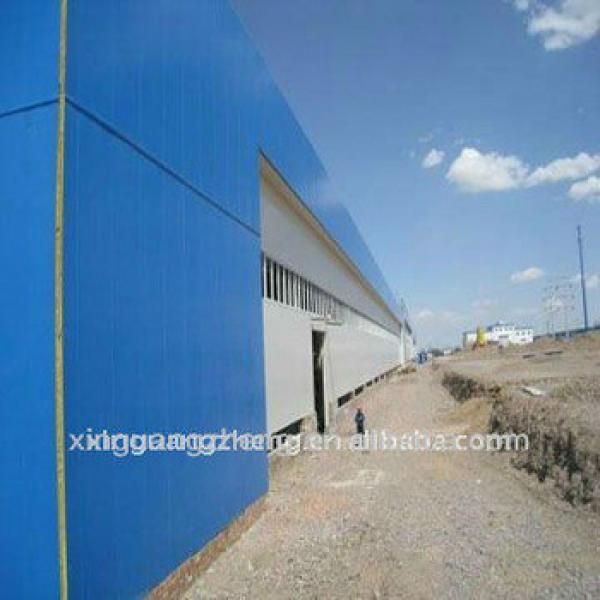 Prefabricated Light Steel Structure Warehouse #1 image