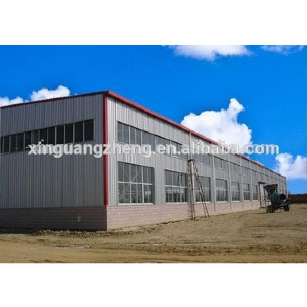 high quality prefabricated manufactured warehouse in Central Asia #1 image