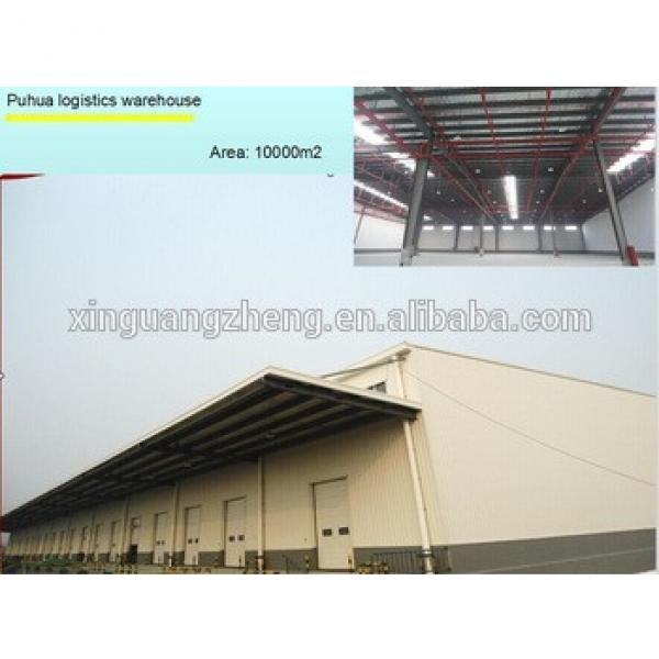 cheap prefab steel structural frame warehouse #1 image
