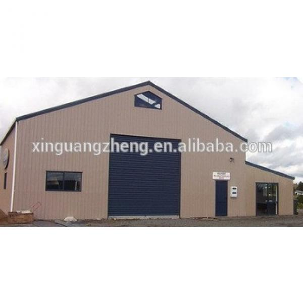 China portal steel frame warehouse #1 image