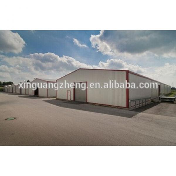 high quality and ISO certification prefabricated steel storehouse #1 image