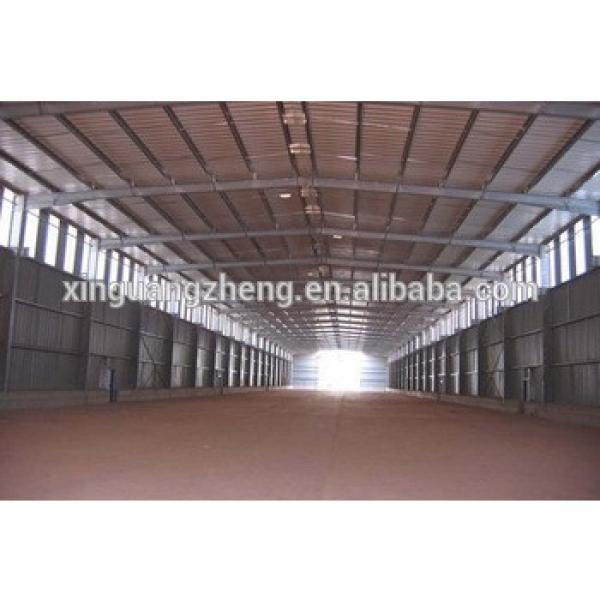 high quality structural steel frame warehouse construction #1 image
