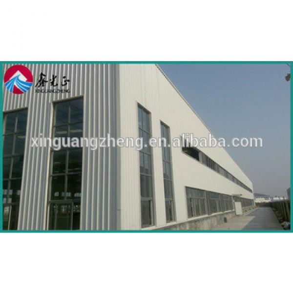 construction design prefabricated steel portal space frame structure easy install warehouse #1 image