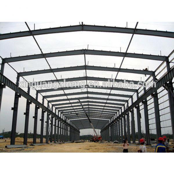 galvanized pre engineered steel frame building #1 image