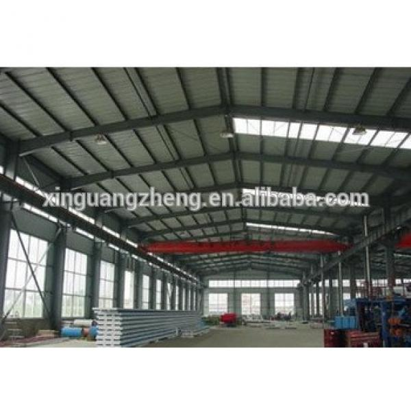 Steel structure warehouse galvanized metal structure warehouse #1 image