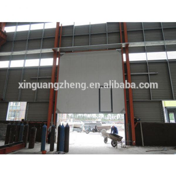 large span portal frame structural steel prefabricated warehouse #1 image