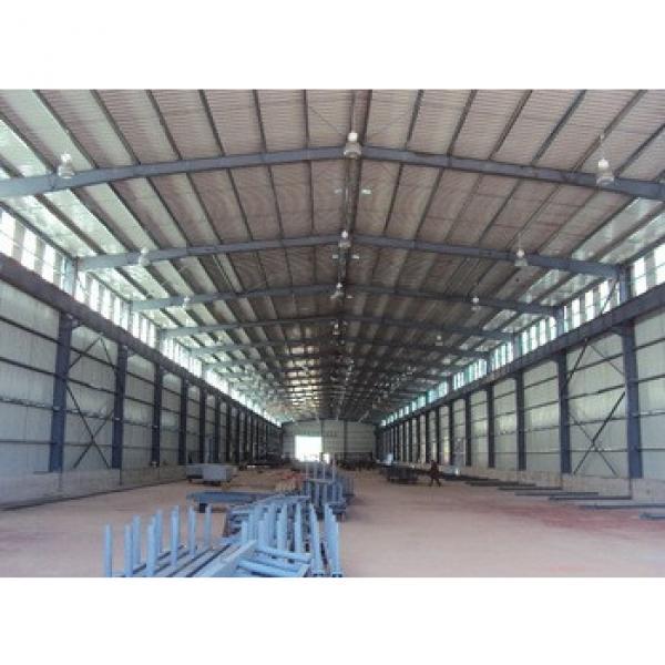 hot sale low price prefabricated building steel warehouse #1 image