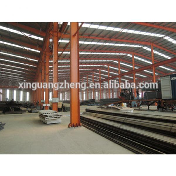 anti-earthquake steel structure pre assembled fabricated manufactured warehouse #1 image