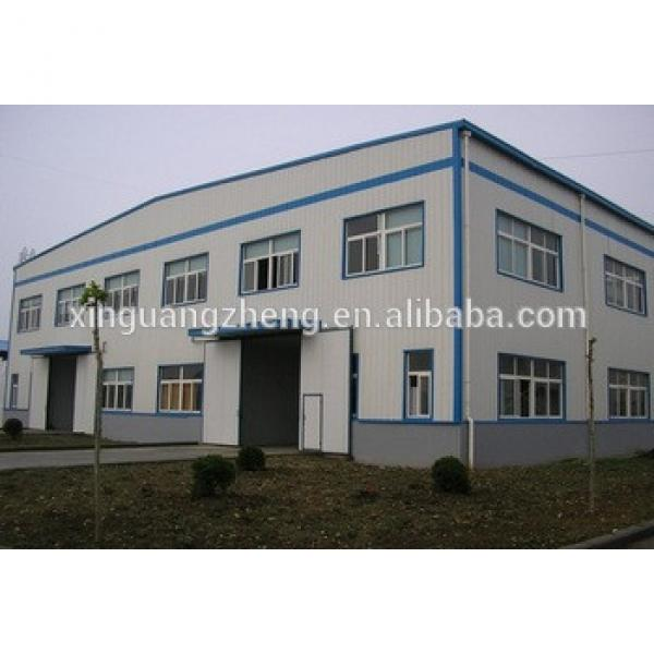 construction design prefabricated steel structure warehouse portal space frame structure easy install warehouse #1 image