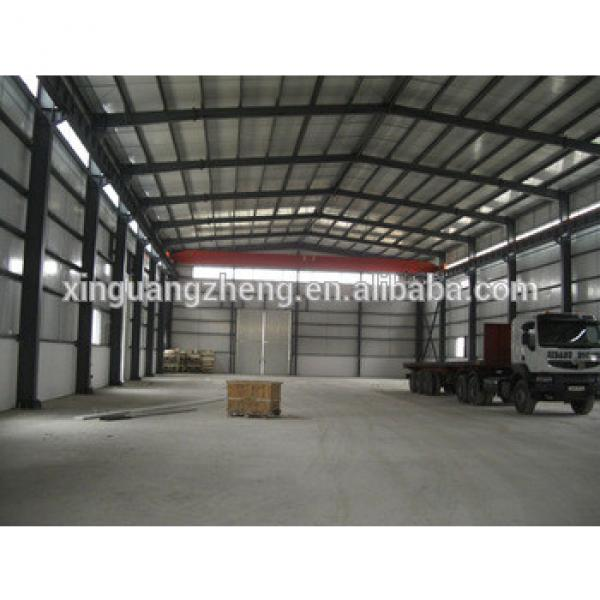 cheap large span steel portal space frame structure fabrication easy install warehouse #1 image