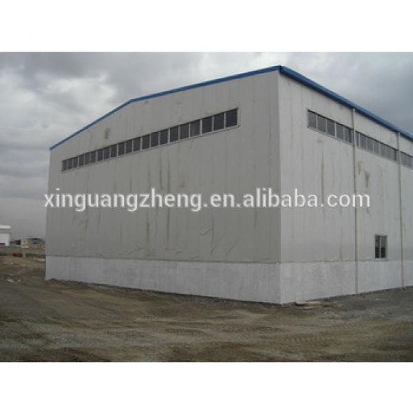 China large span steel portal space frame structure fabrication quick build warehouse #1 image