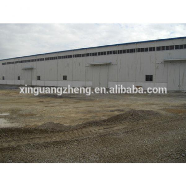 anti-earthquake large span steel space frame structure fabrication quick build warehouse #1 image