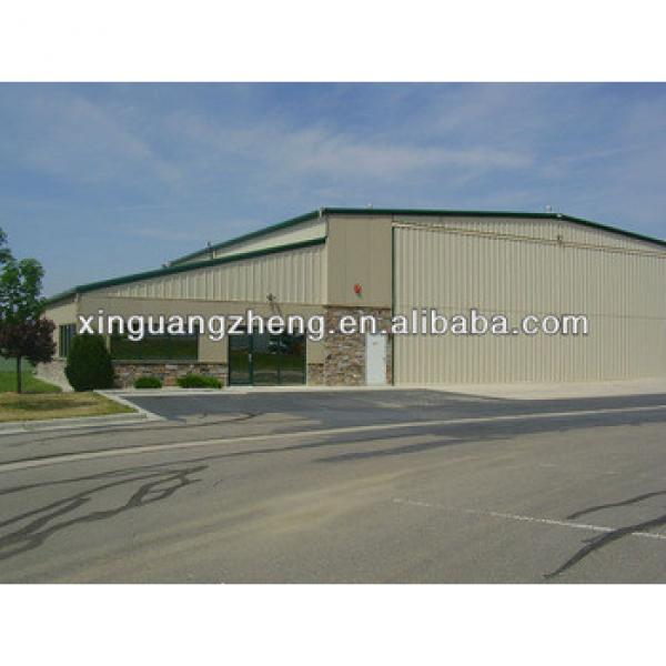 low cost prefab steel construction warehouse #1 image