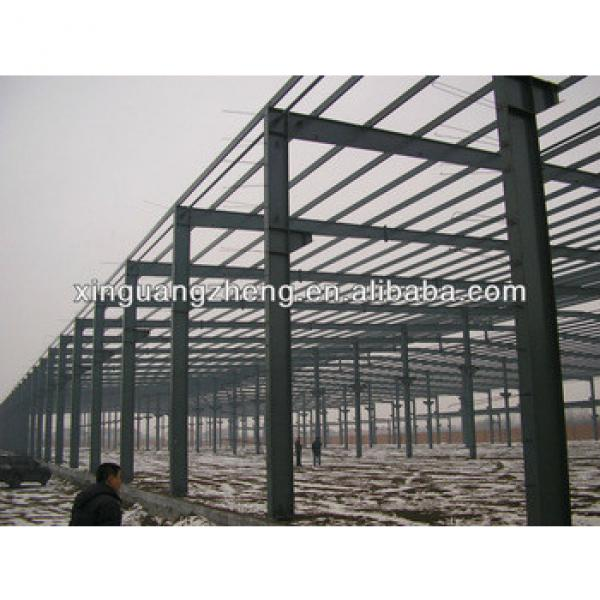 light steel structure frame warehouse project prefab steel factory warehouse #1 image