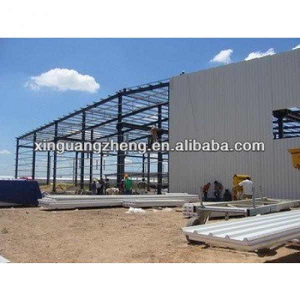 pre engineered light steel structural warehouse building #1 image