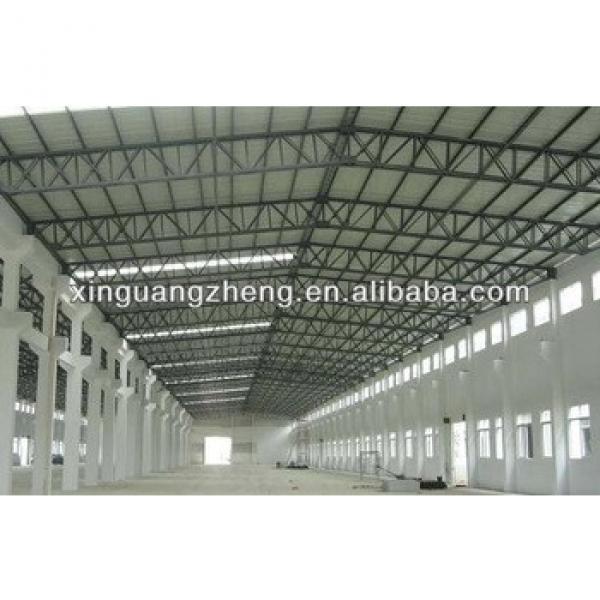 modular cheap lightweight prefabricated portal frame steel structure warehouse hangar #1 image