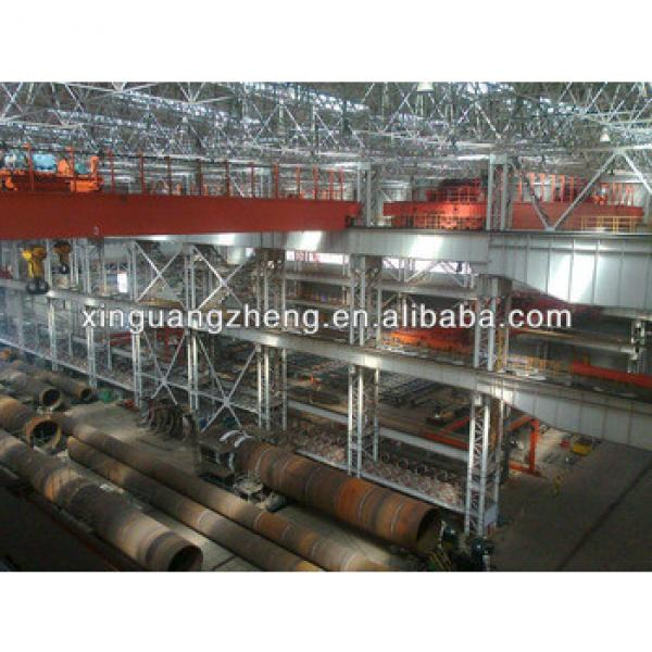 anti-earthquake sandwich panel roof prefab structural steel pre egineering warehouse #1 image