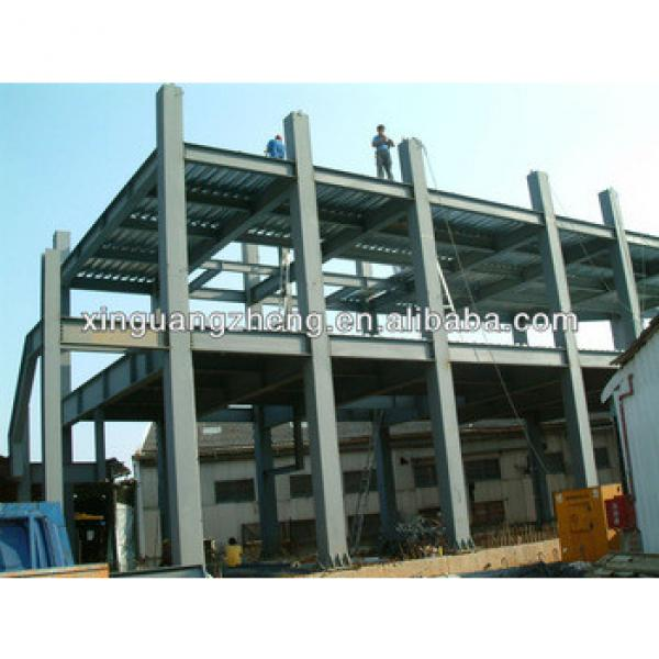 steel structure with bracing systems steel frame joint shelter shed #1 image