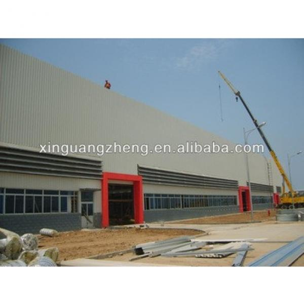 large span lightweight prefab steel structure fabric storage warehouse building layout design plant #1 image