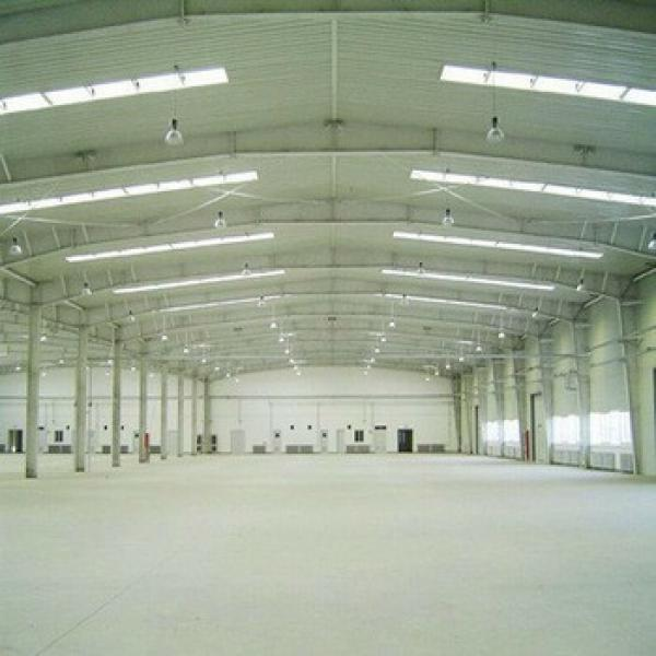 Lightweight Steel Structure Warehouse Convenient Disassemble and Transportation #1 image
