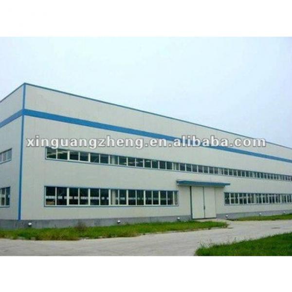 pre-engineering steel structure building multi-storey steel warehouse #1 image