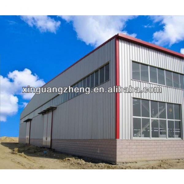 light structural hangar steel frame warehouse building for sale #1 image